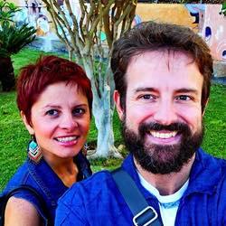 Emilio Zanetti e Valeria Silvestrini